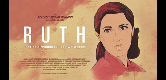RUTH: JUSTICE GINSBURG IN HER OWN WORDS movie poster